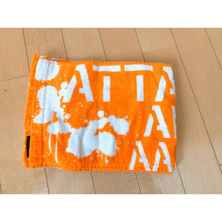 AAA - AAA 10th anniversary マフラータオル 橙 オレンジ