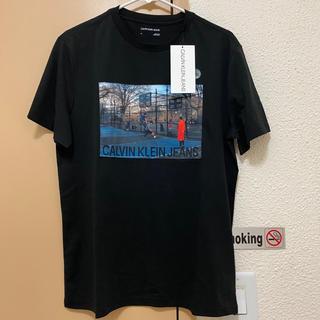 カルバンクライン(Calvin Klein)の【USサイズMラスト1点★】カルバンクラインTシャツ(Tシャツ/カットソー(半袖/袖なし))