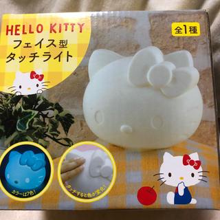 ハローキティ - キティちゃん フェイス型タッチライト