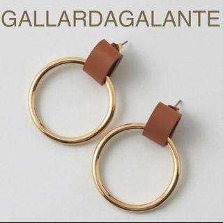 GALLARDA GALANTE - 新品 ガリャルダガランテ S COLLAGE ピアス フープピアス ゴールド
