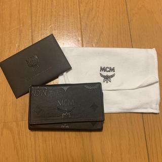 エムシーエム(MCM)のエムシーエム 4連 キーケース ロゴ メンズ ブラック 2115(キーケース)