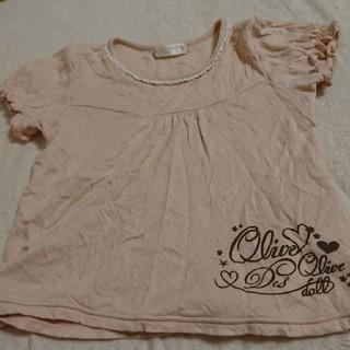 オリーブデオリーブ(OLIVEdesOLIVE)のフーセンウサギ OLIVEdesOLIVE 110 半袖 カットソー 夏(Tシャツ/カットソー)