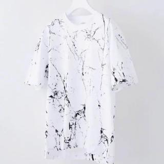 STUDIOUS - ステュディオス ペイントtシャツ 美品