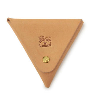 IL BISONTE - 【新品】新品 イルビゾンテ 小銭入れ ヌメ革 コインケース 三角形 コインパース
