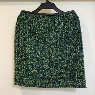 ガリャルダガランテ(GALLARDA GALANTE)のGALLARDAGALANTE LINTON ミニスカート ツィード ツイード(ミニスカート)