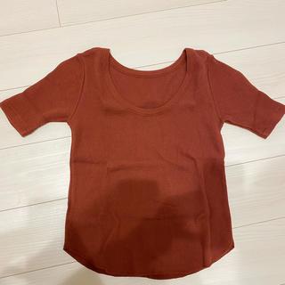 ジーナシス(JEANASIS)の2wayワッフルTシャツ(Tシャツ(半袖/袖なし))