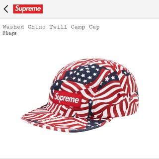 Supreme - 正規品 Supreme Washed Chino Twill Camp Cap