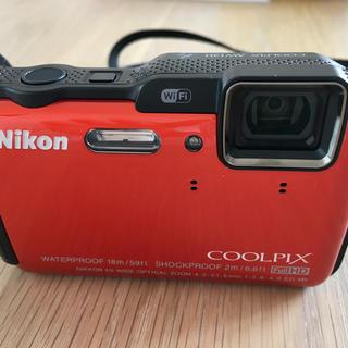 ニコン(Nikon)のNikon COOLPIX AW120 SUNSHINE ORANGE(コンパクトデジタルカメラ)