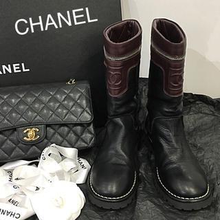 CHANEL - 美品 シャネル CHANEL ブーツ 36