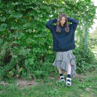 リルリリー(lilLilly)のリルリリー 変形スカート(ひざ丈スカート)