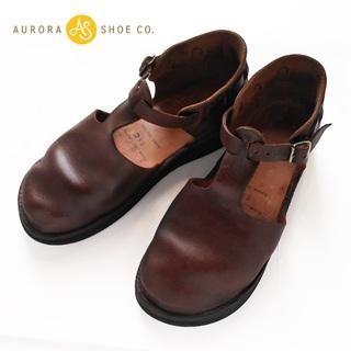 アウロラ(AURORA)のオーロラシューズ✨AURORA SHOES ウエストインディアン 23.5cm(ローファー/革靴)