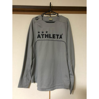 ATHLETA - ATHLETA プラクティスシャツ 長袖 グレー Oサイズ