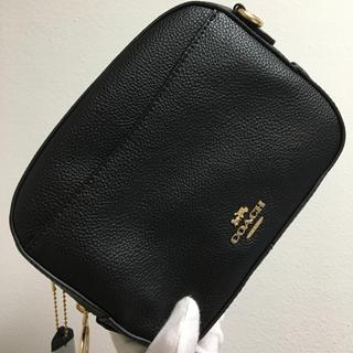COACH - シングルジップ ブラック 黒❤️コーチ 新品・未使用❤️ショルダーバッグ