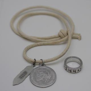 ディーゼル(DIESEL)のDIESEL(ディーゼル)ロゴリング、RING/アクセサリー・ジュエリー 約7号(リング(指輪))