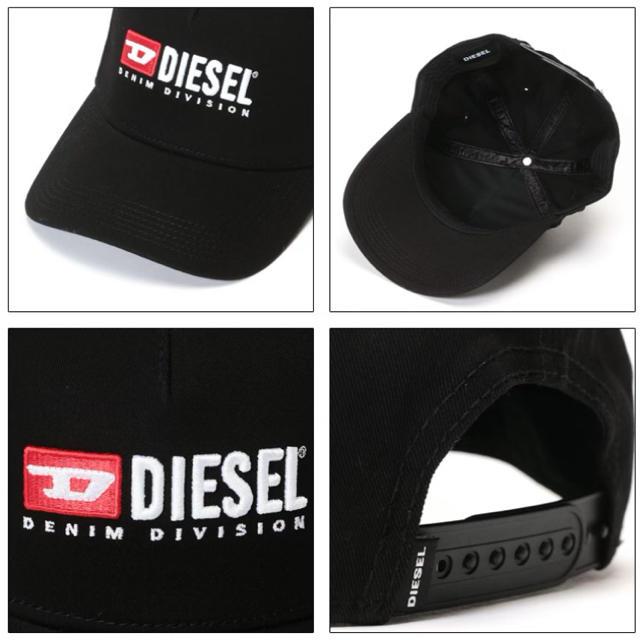 DIESEL(ディーゼル)の☆DIESEL☆ ディーゼル キャップ ブラック メンズの帽子(キャップ)の商品写真