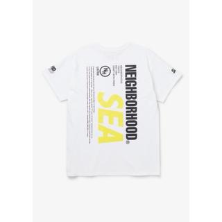 ネイバーフッド(NEIGHBORHOOD)の新品 L wind and sea neighborhood Tシャツホワイト(Tシャツ/カットソー(半袖/袖なし))