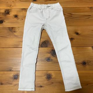 ブランシェス(Branshes)のホワイトジーンズ サイズ 120(パンツ/スパッツ)