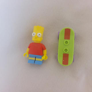 レゴ(Lego)のLEGO シンプソンズ バート(キャラクターグッズ)