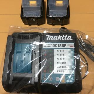 マキタ(Makita)の新品 マキタ バッテリ BL1860B 純正 2個 + 充電器(その他)