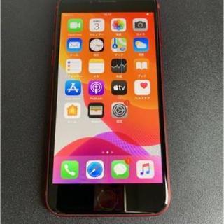 iPhone - 美品 電池92% SIMフリー iPhone8 64GB レッド 赤ロム保証付き