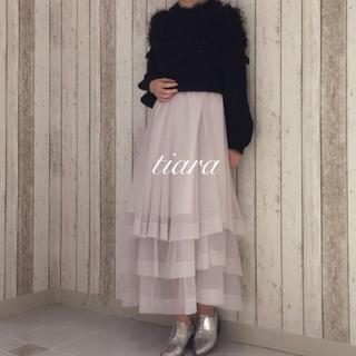 fur fur - 美品♡ロングチュールスカート