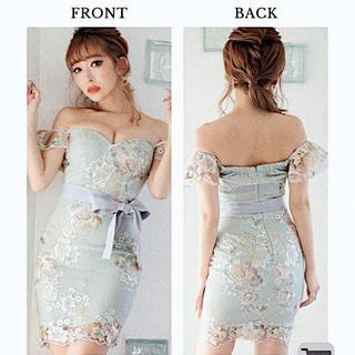 JEWELS - jewels フラワー刺繍ドレス キャバ