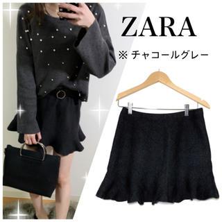 ZARA - ZARA フリル ミニスカート マーメイド  LAMIA ナルシス snidel