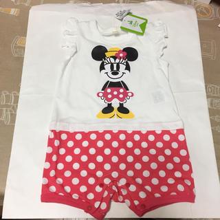 Disney - ロンパース  カバーオール ミニー  80