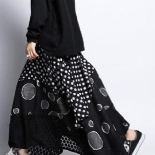 アンティカ変形スカート