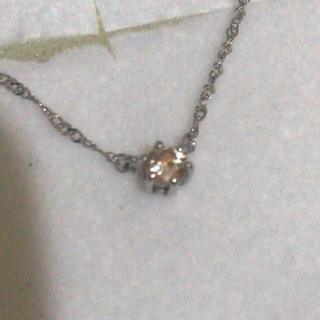 アルページュ k18 ブラウンダイヤモンド ネックレス(ネックレス)