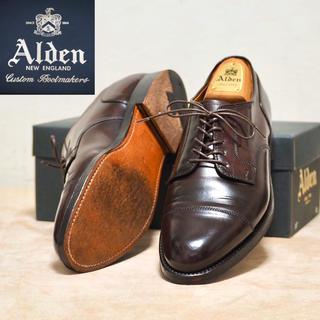 Alden - Alden 8.5D オールデン コードバン ストレートチップ