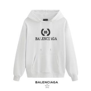 Balenciaga - Balenciaga# パーカー 春 綿100% 男女兼用 大きいサイズ 5色