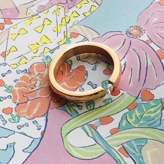 ジルコニア 指輪 9号(リング(指輪))