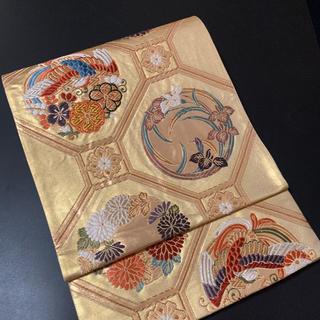 ⭐︎逸品⭐︎正絹手刺繍袋帯⭐︎六通⭐︎