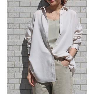 IENA - IENA【イエナ】☆Ly/Pツイルオーバーシャツ 新品ナチュラル36