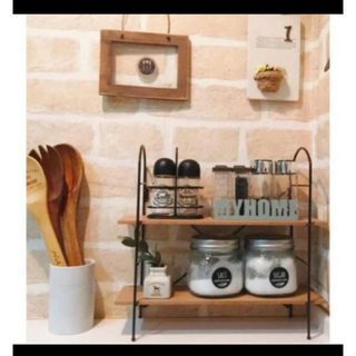 フランフラン(Francfranc)の調味料ラック 調味料スタンド スパイスラック 新生活 魅せる収納 キッチンラック(キッチン収納)