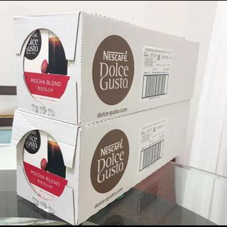 Nestle - 送料無料 ネスレドルチェグスト カプセル コーヒー モカブレンド  6箱