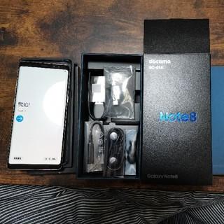 SAMSUNG - Galaxy Note 8 Gold docomo SIMロック解除済み