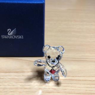 スワロフスキー(SWAROVSKI)のスワロフスキー クリスベア20周年 2013年限定品 クマ フィギュリン 置物(ガラス)