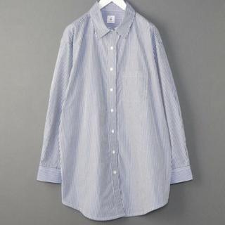 BEAUTY&YOUTH UNITED ARROWS - 6 ROKU ストライプ シャツ カシュクール オーバーサイズシャツ