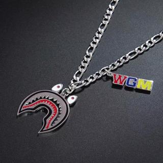 WGM ネックレス シャーク シルバー