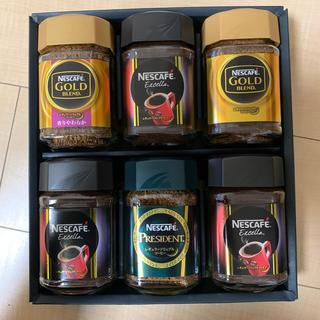 Nestle - ネスカフェ ギフトセット レギュラーソリュブルコーヒー 6本セット 未使用