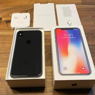 iPhone - iphoneX•64G•スペースグレイ•超美品•SIMフリー
