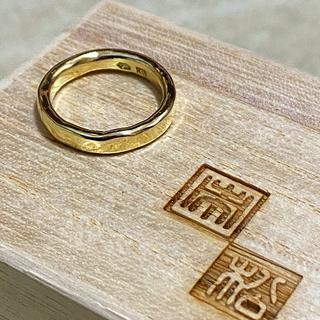 エディフィス(EDIFICE)の市松 リング 18金 グリーンゴールド ( SIZE - 9号 )(リング(指輪))