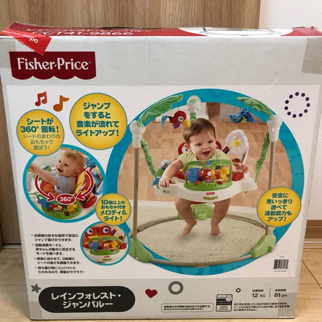 Fisher-Price(フィッシャープライス)のジャンパルー  レインフォレスト キッズ/ベビー/マタニティのおもちゃ(ベビージム)の商品写真