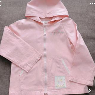 ピンク 薄手パーカー 110サイズ(ジャケット/上着)