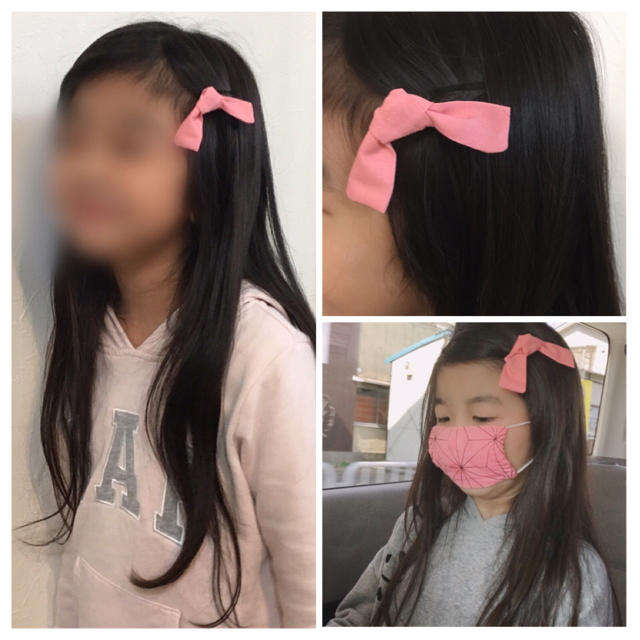 作り方 ねずこ 髪飾り