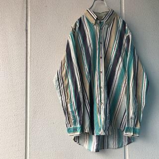 マックレガー(McGREGOR)のMcGREGOR ボタンダウンストライプシャツ (シャツ)