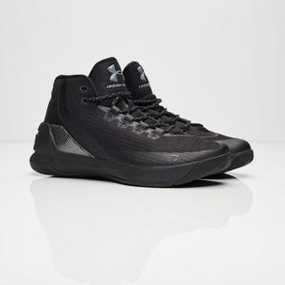UNDER ARMOUR - 【UNDER ARMOUR】SC Triple Black 27.5cm
