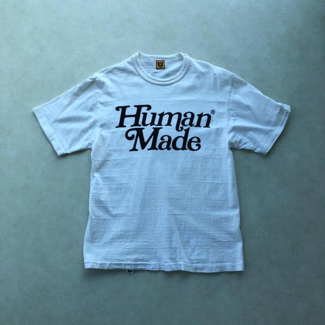 A BATHING APE(アベイシングエイプ)の[human made girls don't cry]ダブルネームTシャツ メンズのトップス(Tシャツ/カットソー(半袖/袖なし))の商品写真